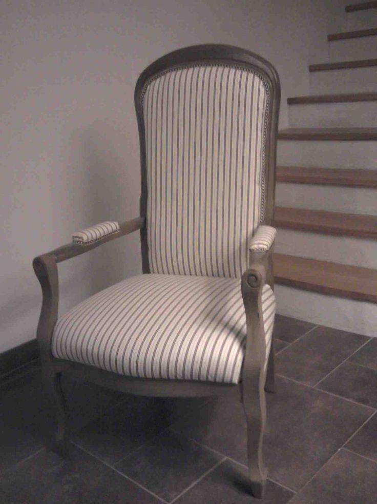 17 meilleures id es propos de fauteuil voltaire sur pinterest capitonnage retapisser un. Black Bedroom Furniture Sets. Home Design Ideas