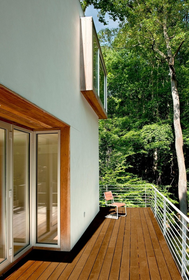 Balcony design ideas in apartment grenoble france home design and - Forest House By Kube Architecture