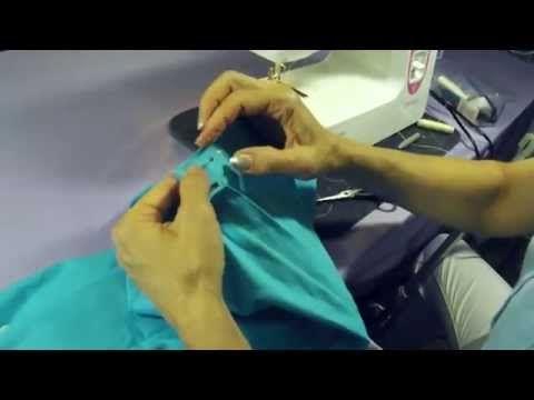 Как пришить пояс к юбке? (Подробная инструкция) - YouTube