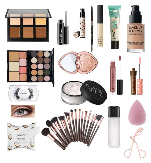 Untitled #17 by raahf91 on Polyvore featuring polyvore, interior, interiors, interior design, home, home decor, interior decorating, NYX, Anastasia Beverly Hills, Too Faced Cosmetics, NARS Cosmetics, MAKE UP FOR EVER, MAC Cosmetics, Benefit and Sephora Collection