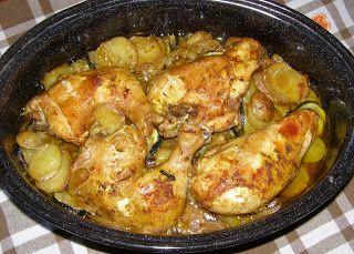 W Mojej Kuchni Lubię.. : pieczony kurczak w party dip meksykański z warzywa...