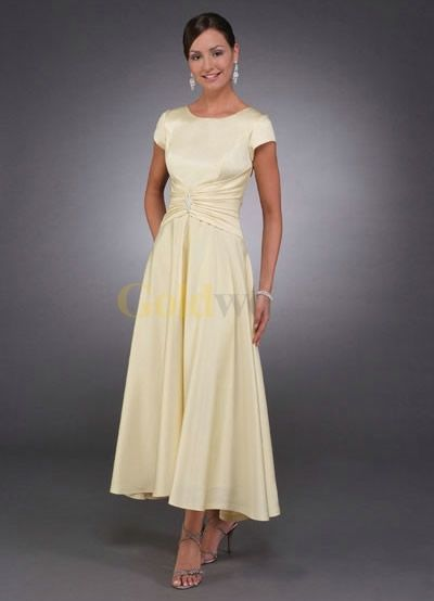 Mother Of Bride Tea Length Dresses - The Wedding SpecialistsThe Wedding Specialists