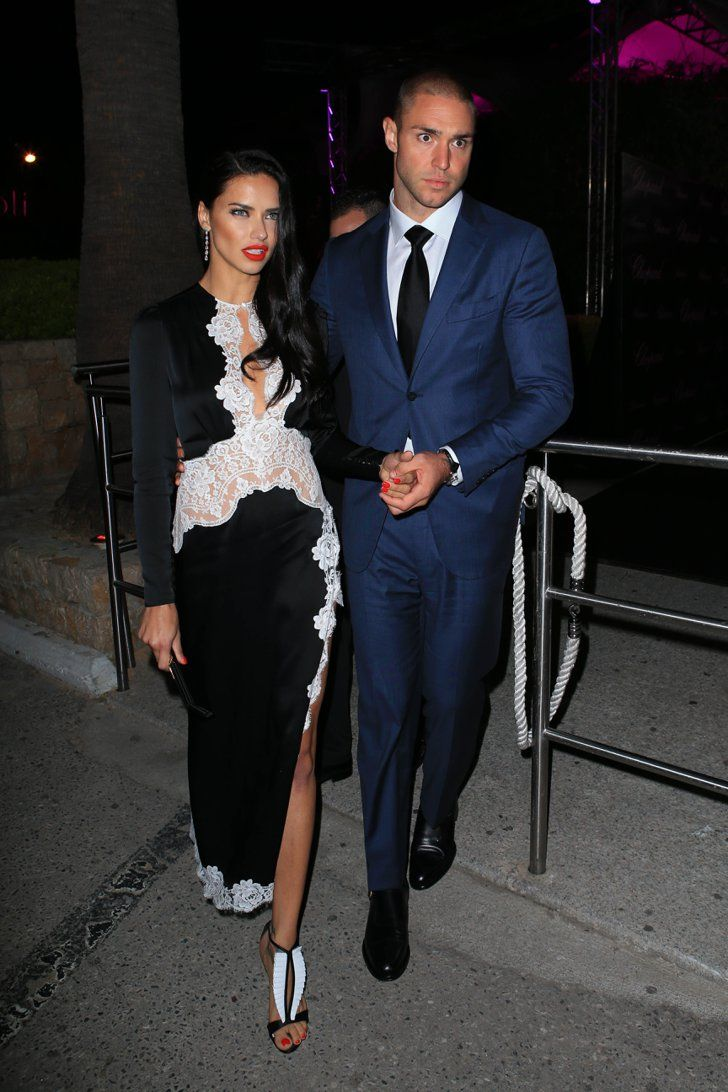 Pin for Later: These Photos of Adriana Lima and Her Boyfriend Prove They Are Just So in Love