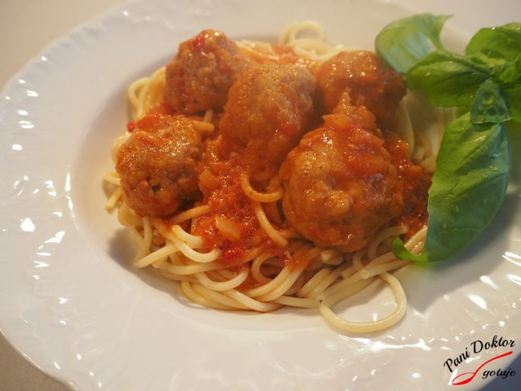 Spaghetti z klopsikami – Pani Doktor gotuje