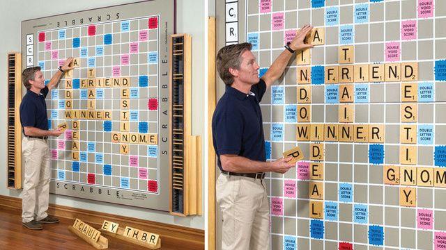 Huge Scrabble board