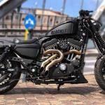 Harley Vintage Custom Bobber (6)