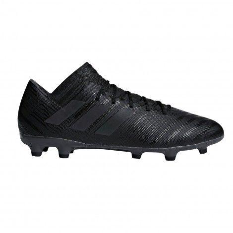 70645483a359 Adidas Nemeziz 17.3 FG CP8988 voetbalschoenen core black hi-re green ...