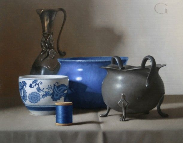 David Gray, still life, classical realism, contemporary realism, oil painting, realism
