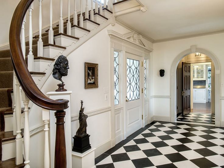 134 best images about home entrance halls on pinterest for Beautiful foyer pictures