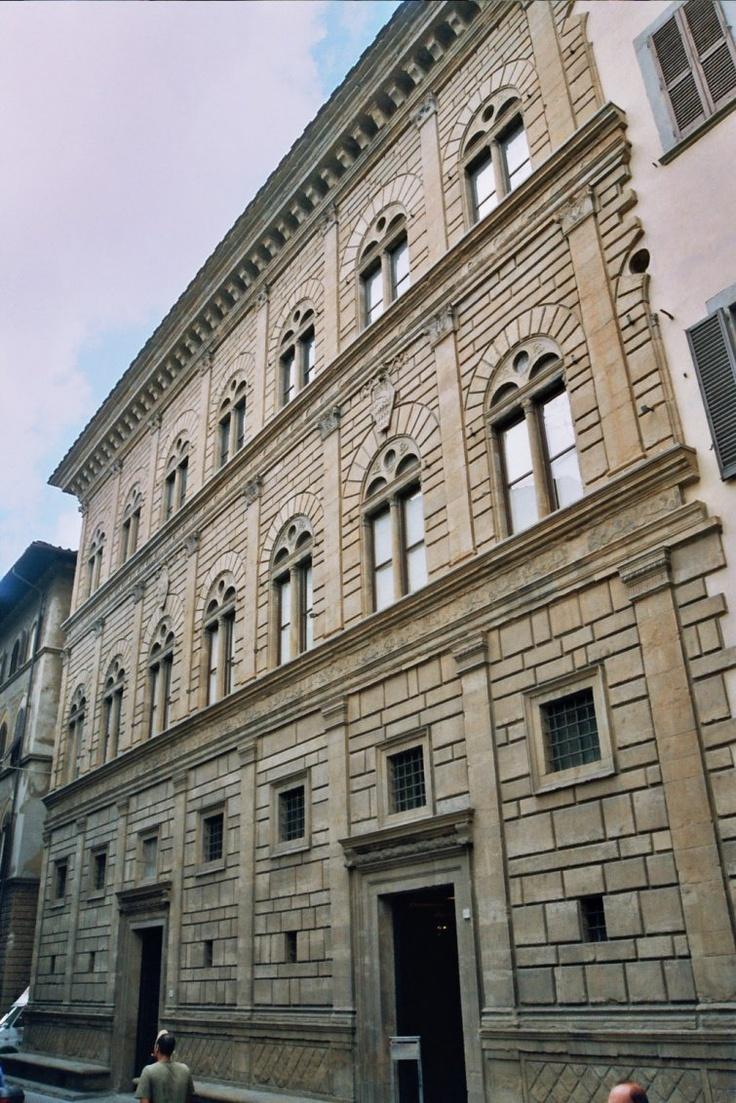 Leon Battista. Alberti. Facade, Palazzo Rucellai, Florence. begun c. 1457    #architecture #Alberti