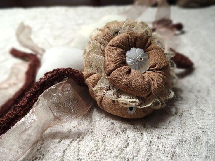Haarbänder - Baby Haarband Newborn Fotoshooting Prop Accessoire - ein Designerstück von MONICCI_Handmade_Props bei DaWanda