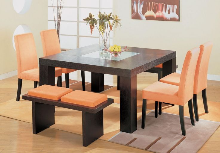 Dining Table Design | See more @ http://diningandlivingroom.com/square-dining-table-design-home-decor/