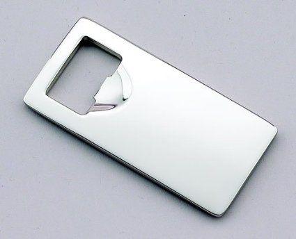 Amazon.com: Rectangular Bottle Opener, Nickel Plated.: Kitchen & Dining