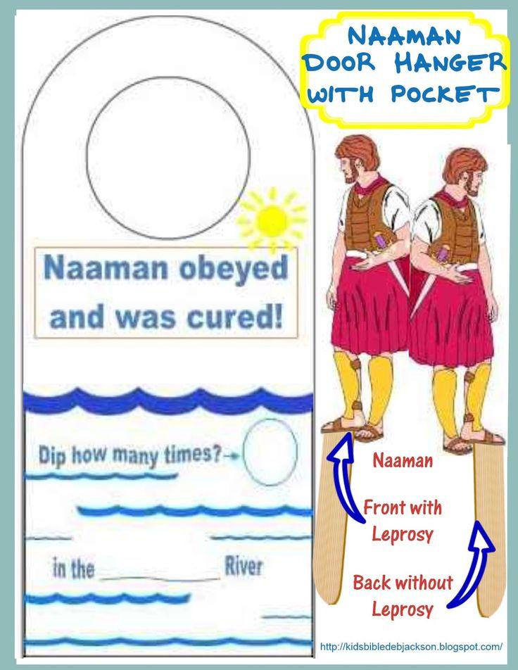 Elisha Amp Naaman Bible Class Preschool Bible Sunday