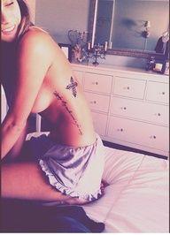 Female Tattoos - i like the location - up the side..