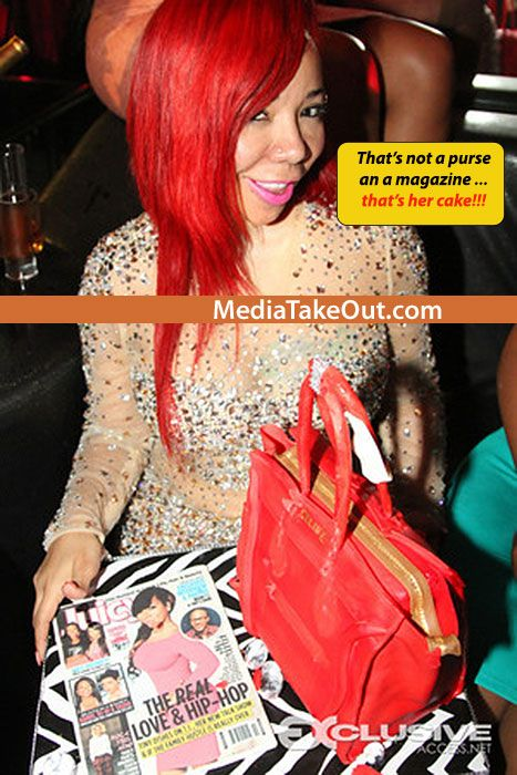 HAPPY BIRTHDAY!!! Rapper TI Throws His Wife TINY A BIRTHDAY PARTY . . . And That Has To Be The MOST CREATIVE BIRTHDAY CAKE EVER!!! - MediaTakeOut.com™ 2013