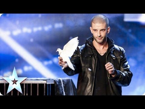 Darcy Oake's jaw-dropping dove illusions | Britain's Got Talent 2014. Incroyable ! / Incredible !