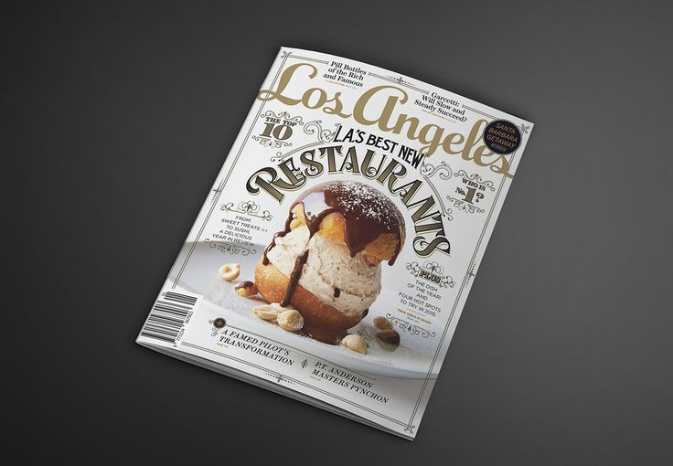 Los Angeles Magazine January 2015 cover on Behance