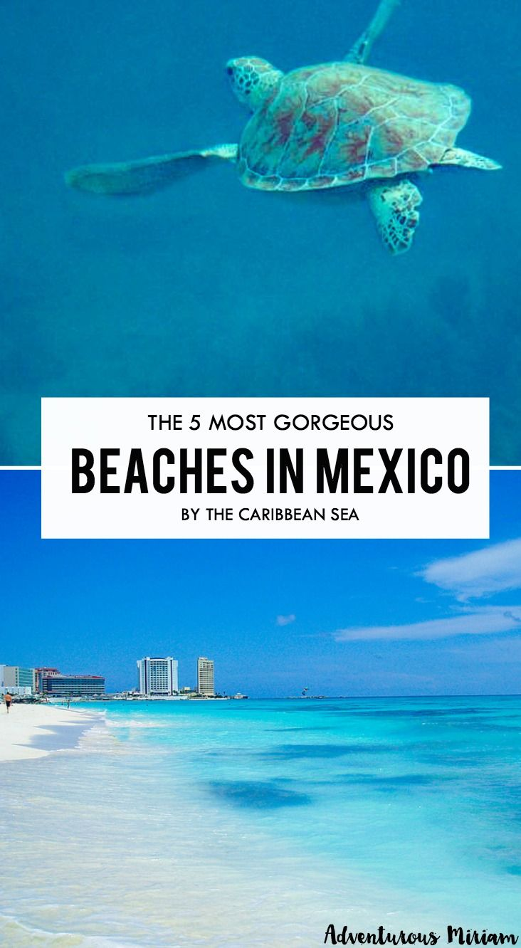 Mexico has a lot to offer when it comes to beaches and gorgeous blue waters. Here's a lowdown on Mexico's best beaches by the Caribbean Sea.