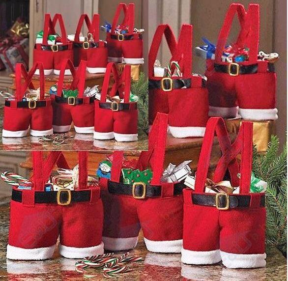 Купить товар2015 новые комплект рождество бутылки вина мешок конфеты мешок небольшие штаны вино нести сумки новогоднее украшение подарочные пакеты в категории События и праздничные атрибутына AliExpress.       2015 Новый наборы рождественской бутылки вина мешок мешок конфет малого брюки Красное вино сумки для переноски рож