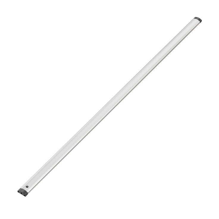 LED Unterbau-Leuchte Sabik mit Schalter, flach, matt, 90cm, 950lm, weiß