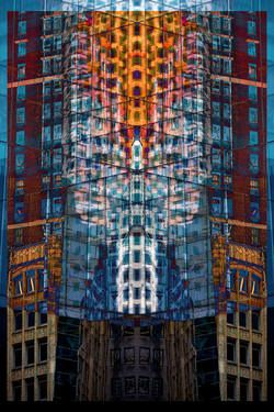 "Saatchi Art Artist Mario Rotta; Photography, ""La città che sale (tribute to Boccioni)"" #art"