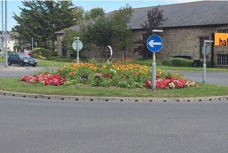 A TOTAL of 23 businesses have so far helped to spruce up Barnstaple's planted areas.    Barnstaple Town Council has been taking charge of cleaning up the town after Devon County Council announced...