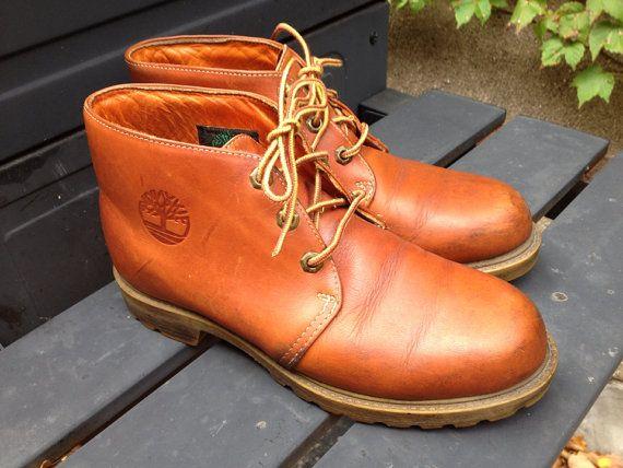 Timberland Chukka Orange Vintage