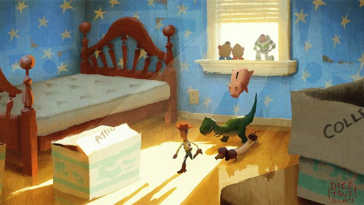 Disney & Pixar Concept Art - Toy Story