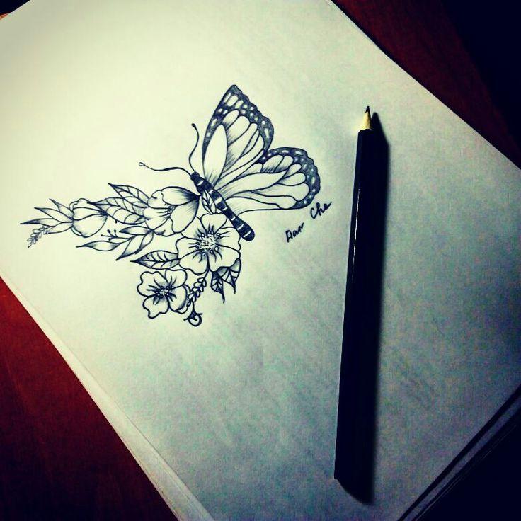 #эскизтату #татубабочка #butterflytattoo #picture4tattoo