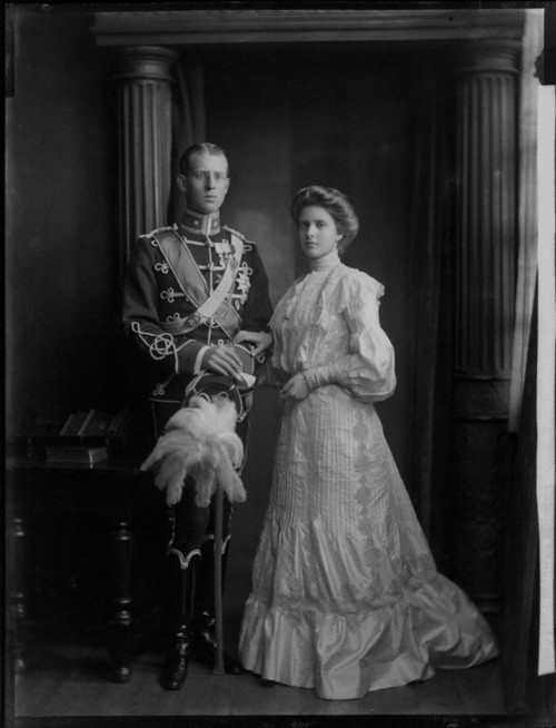 About the British Royals:  Princess Alice and Prince Andrew of Greece - parents of Prince Phillip, Duke of Edinburgh.
