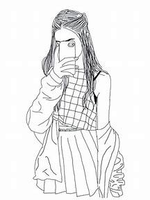 Best Coloring Pages For Teenage Girls Ideas And Images On Bing Find What You Ll Love Hipster Girl Drawing Girl Drawing Girl Drawing Sketches
