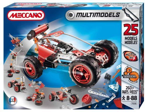 Meccano – 837550 – Jeu de Construction – Buggy – 25 Modèles | Your #1 Source for Toys and Games
