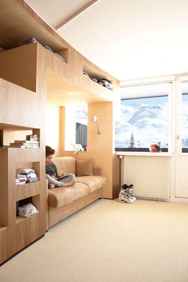 Hochbett mit rutsche selber bauen  Die besten 25+ Hochbett doppelbett Ideen auf Pinterest ...