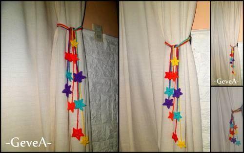 amarra cortinas tejidas a crochet pinterest - Buscar con Google