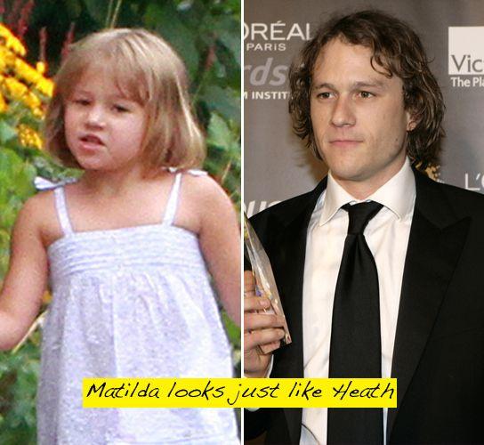 Matilda Ledger Looks So Much Like Her Dad, Heath! - Hollywood Life