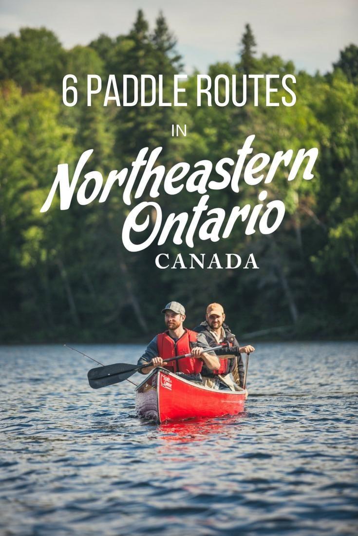 6 Northeastern Ontario Paddle Trips to Get Stoked On via Explore Magazine