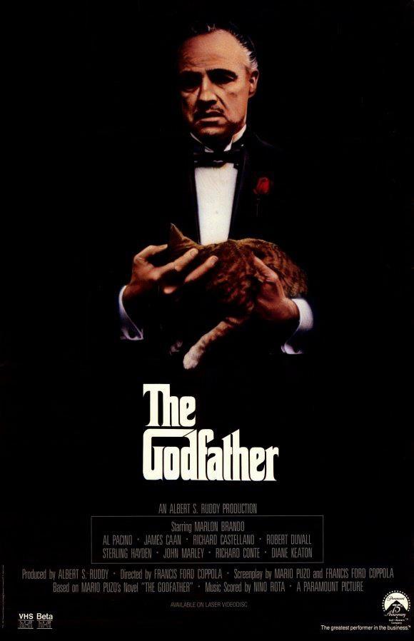 O Poderoso Chefão (The Godfather), 1972.
