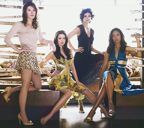 Jewel Staite, Summer Glau, Morena Baccarin & Gina Torres - Firefly x