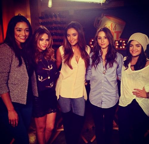 Ashley Benson, Shay Mitchell, Troian Bellisario, and Lucy Hale