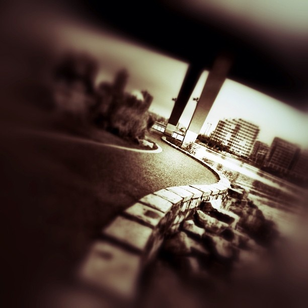 Cambie St. Bridge - iphoneography NikNaz K.