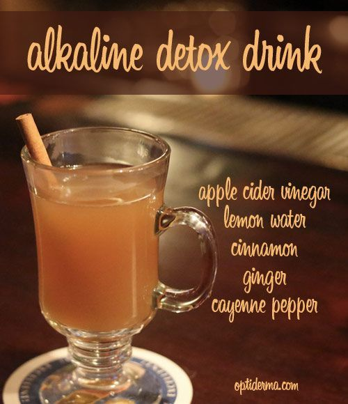Try this Alkaline Detox Drink! It is rich with ingredients that contain detoxifying and healing properties.