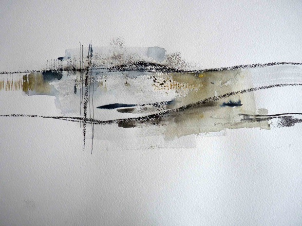 Debbie Lyddon: Drawing Art, Drawings Art, Semi Abstract, Art Example, Art Abstracto, Abstract Landscape, Abstract Paintings, Abstracts Black
