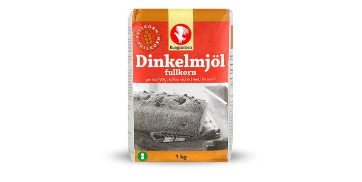 Dinkelmjöl Fullkorn - Produktinformation - Kungsörnen