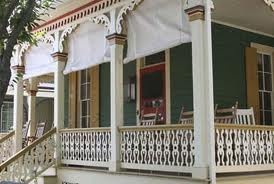 Pretty Victorian porch