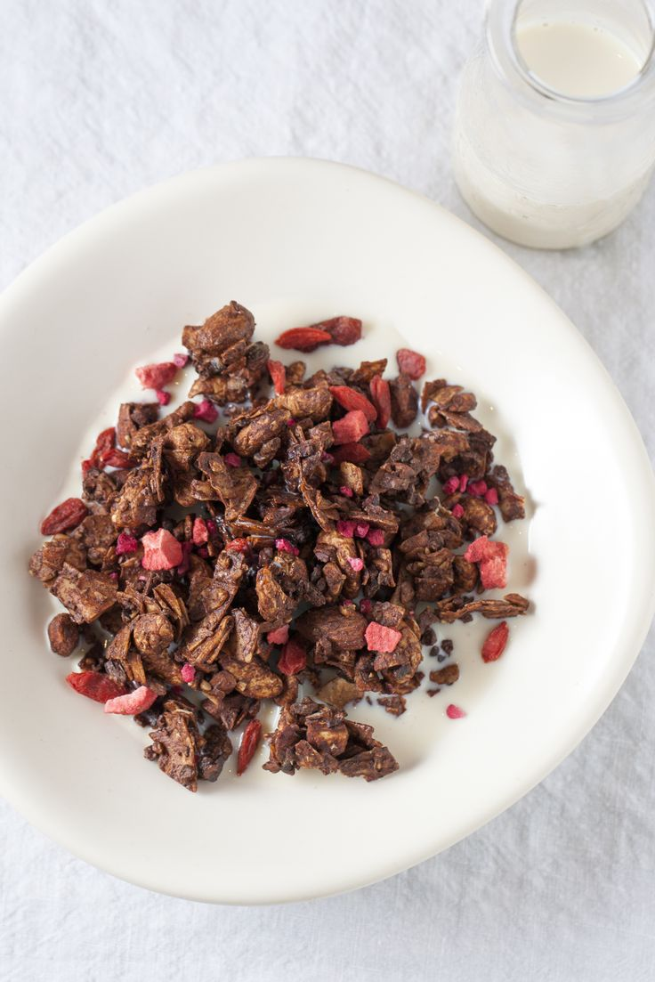 Chocolate Granola : The Healthy Chef – Teresa Cutter