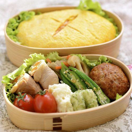 Japanese obento #lunch #box #food #art #japan #cute