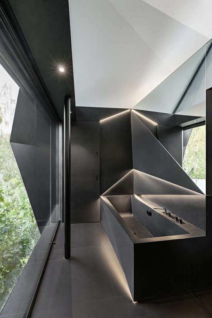 Ein einzigartiges Haus mit besonderer Geometrie und individuellem Interieur