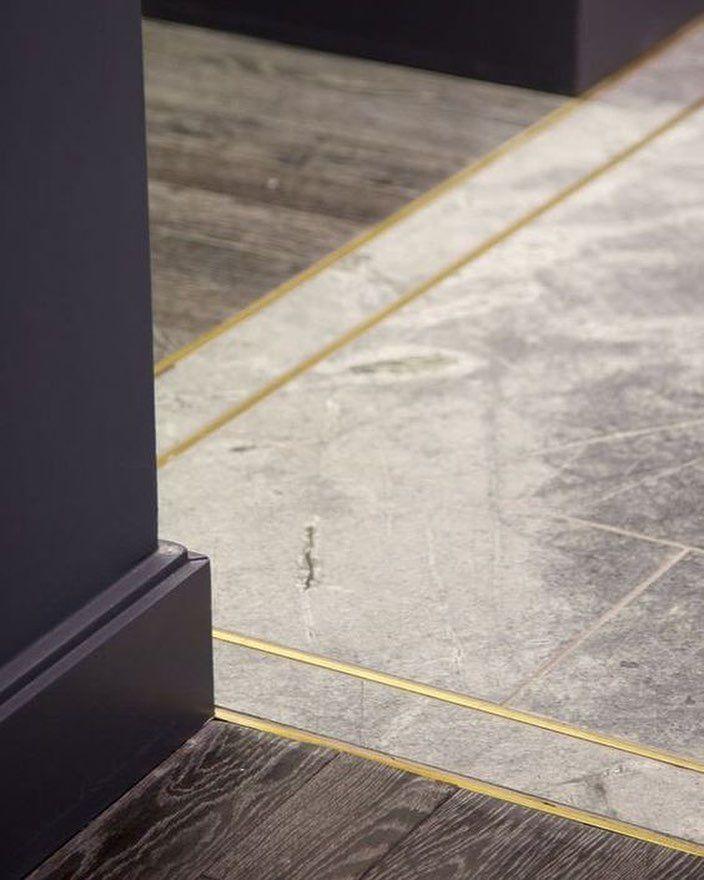 Metal Separating Carpet And Flooring