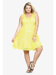 The 25+ best Yellow plus size dresses ideas on Pinterest